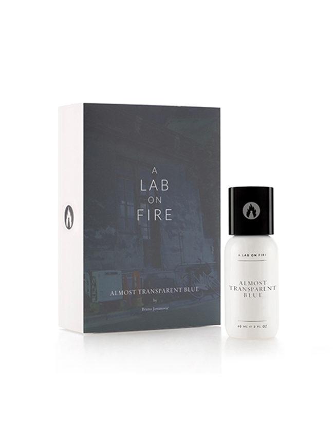 Parfum A Lab On Fire Almost Transparent Blue